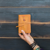 Epiphany Leather Journal with Pocket -