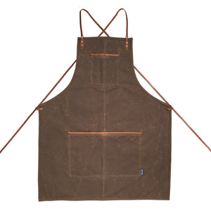 translation missing: en.translation missing: en.Journeyman Lightweight Cross-Back Waxed Canvas Apron