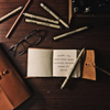 Quote Book Leather Journal -