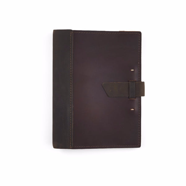 Limited Edition Large Leather Composition Cover with Buckle