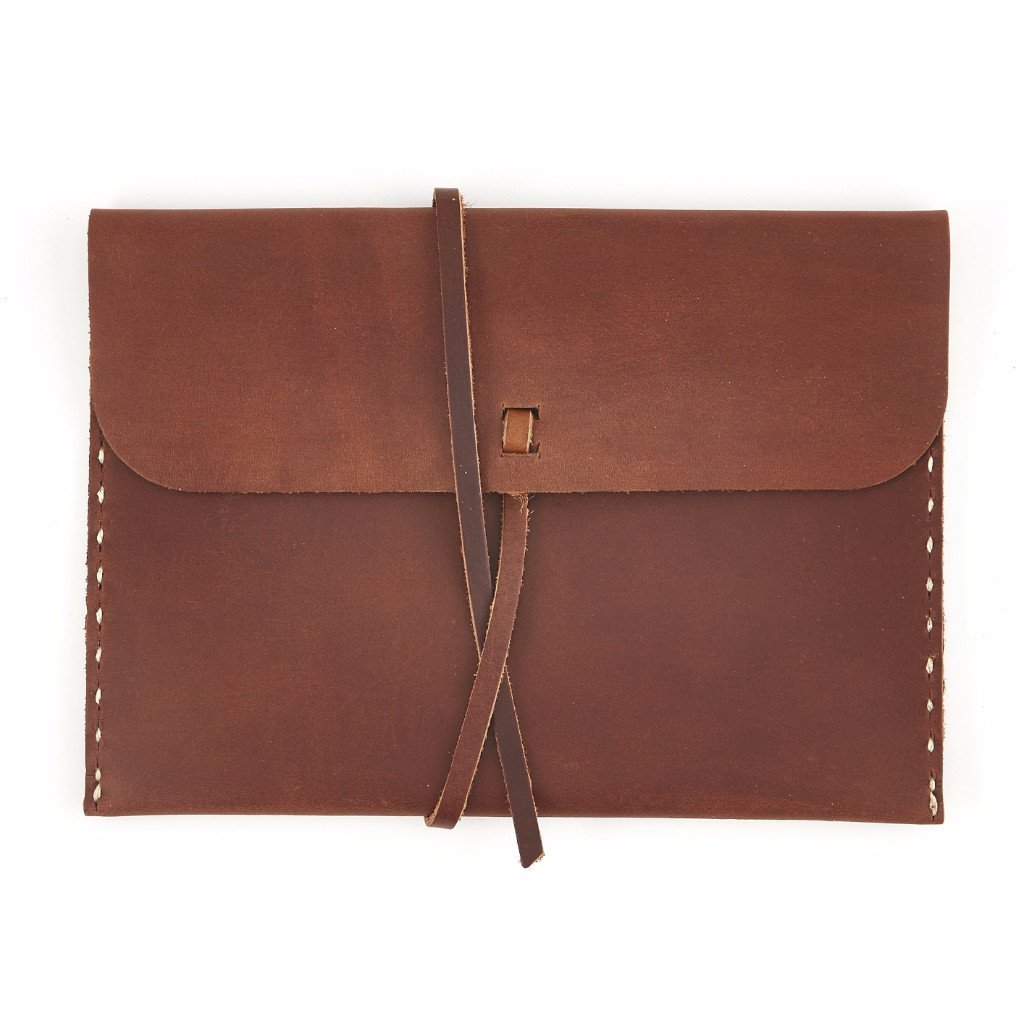 Stowaway Large Leather Pouch