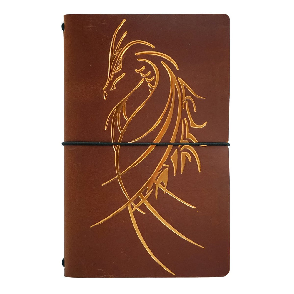 Leather 5E Character/Game Master Roleplaying Notebook