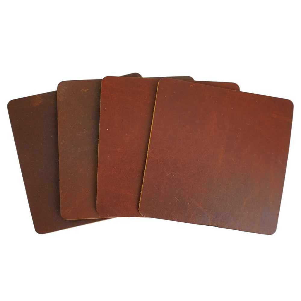 Ultra Leather Coaster - Set of Four