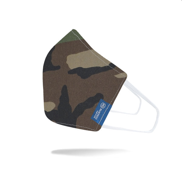Rustico Face Mask - Woodland Camo