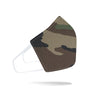 Rustico Face Mask - Woodland Camo -
