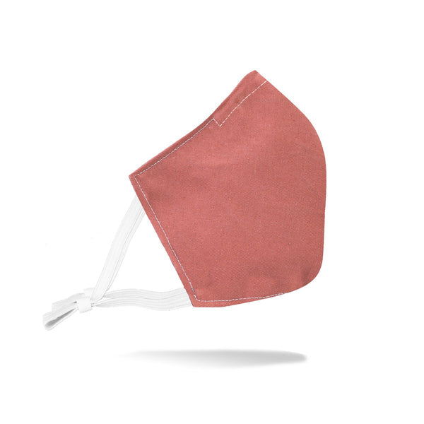 Adjustable Rustico Face Mask - Dusty Rose
