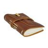 Leather Golf Log with Pocket -