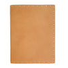 Large Leather Composition Cover - Buckskin / Hand Sewn