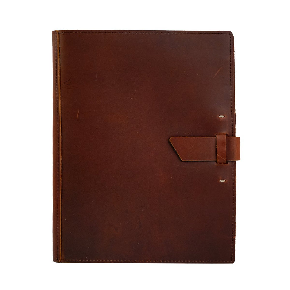 Large Leather Pad Portfolio