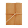 Writers Log Small Refillable Leather Notebook - Buckskin