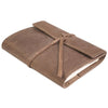 Writers Log Small Refillable Leather Notebook -