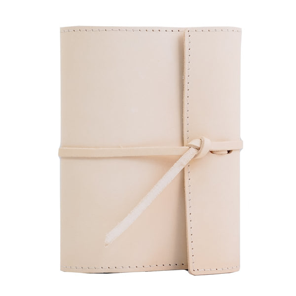 Writers Log Small Refillable Leather Notebook