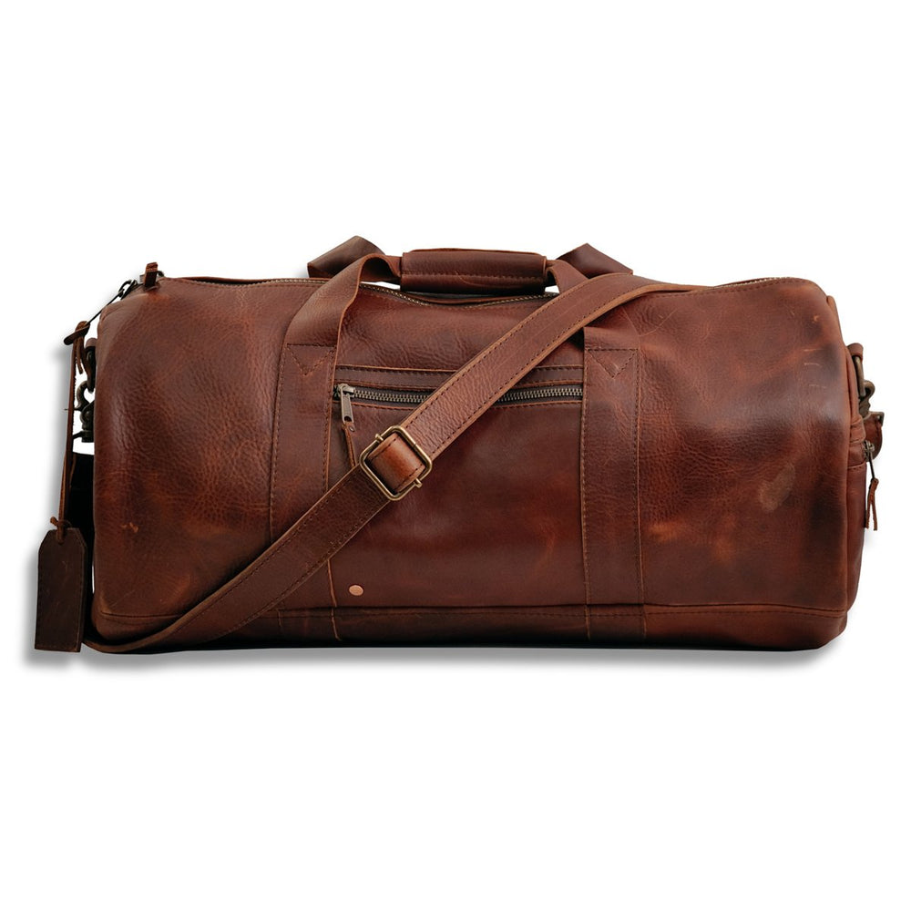 Leather Tahoe Travel Duffle
