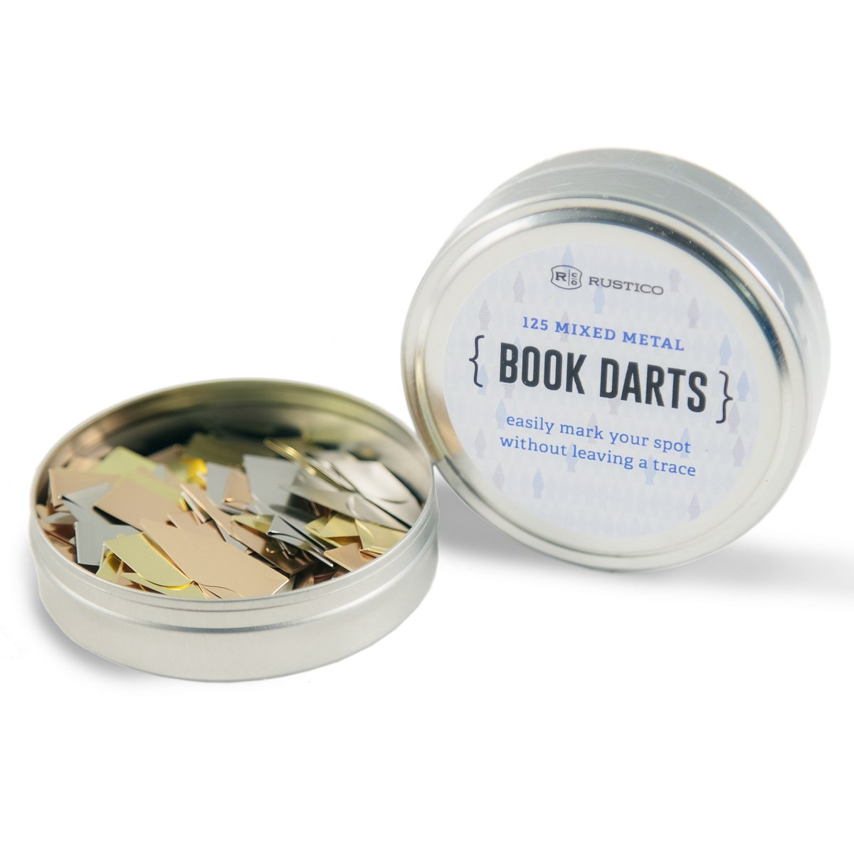 Book Dart Tin - 125 Count