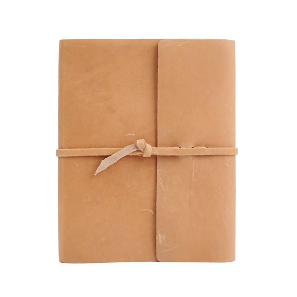 Writers Log Large Leather Notebook