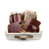 Leather Coffee + Tea Tasting Gift Set - Cinnamon