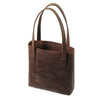 Habitat Leather Tote - Dark Brown