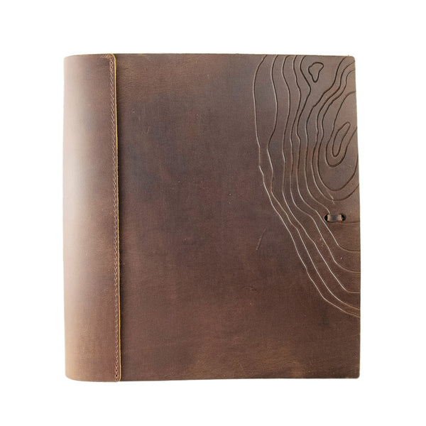 "Soft Leather Binder Special Edition - 8.5"" x 11"""
