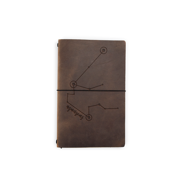 Zodiac Leather Expedition Notebook