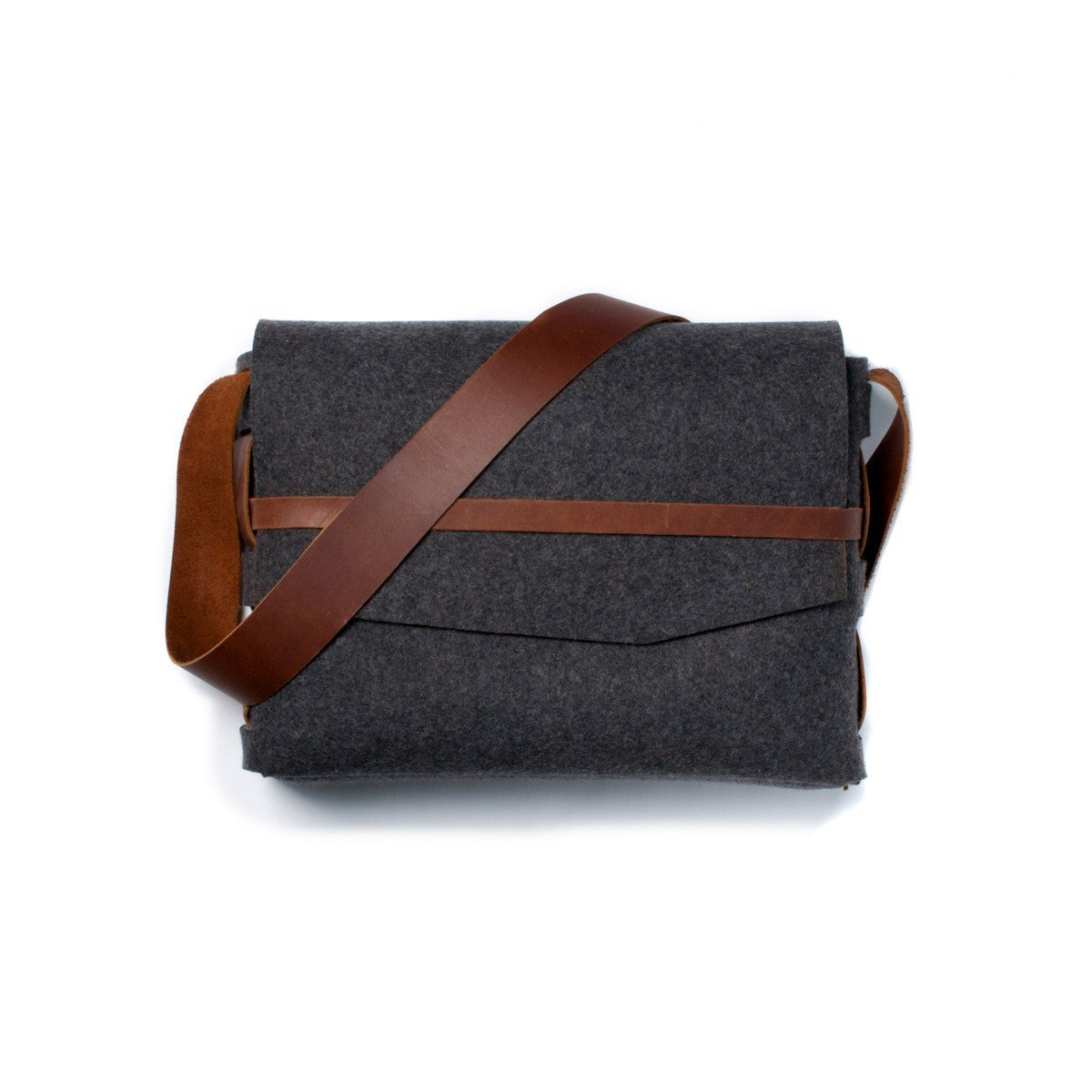 Wool Survivor Leather Satchel