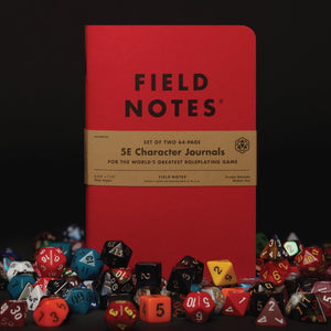 translation missing: en.5E Character Roleplaying Notebook Refill - Set of 2