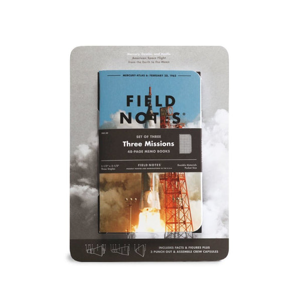 Three Mission Field Notes - Mixed 3-Pack - LIMITED EDITION