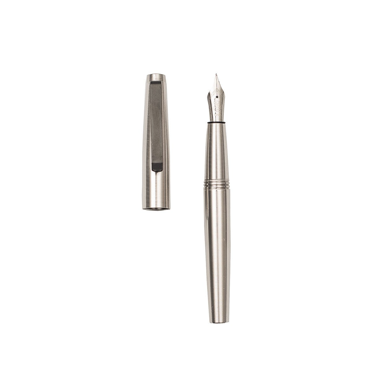 Gist Fountain Pen -  Stainless Steel