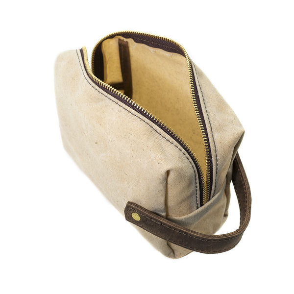 Medium High Line Canvas Pouch