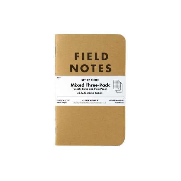 Refill for the Field Notebook - Mixed 3-Pack