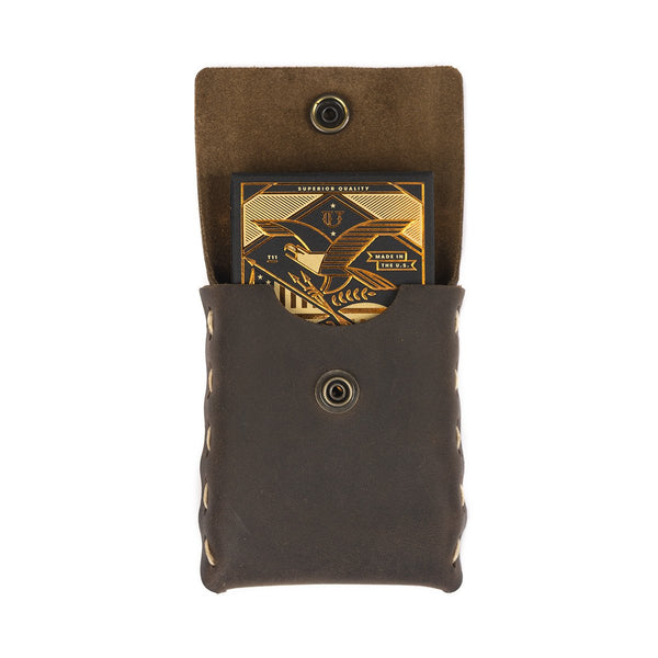 Prestige Leather Playing Card Case