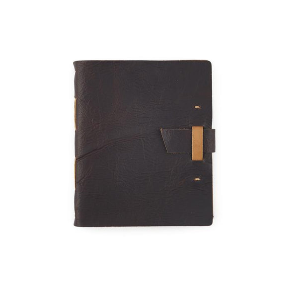 Limited Edition Bison Leather Travelers Journal