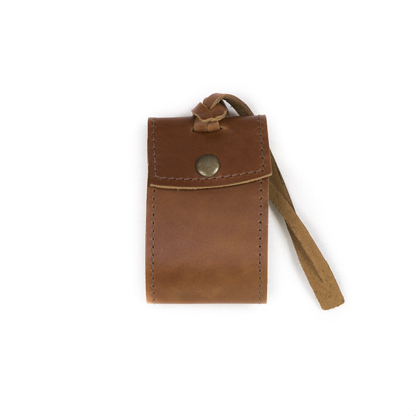 Security Leather Luggage Tag