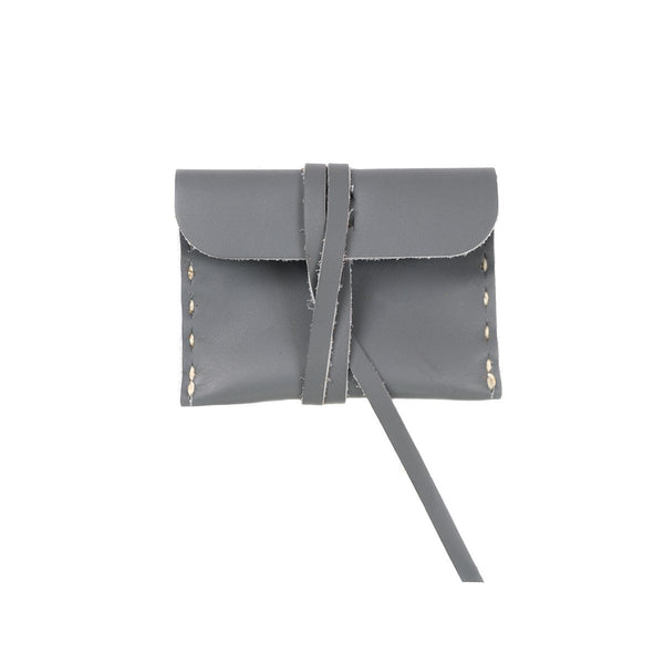 Stowaway Small Leather Pouch
