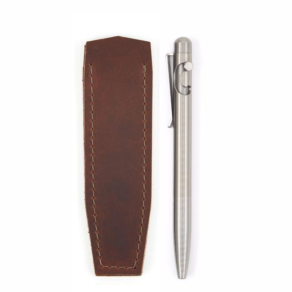Glider Bolt-Action Pen - Titanium