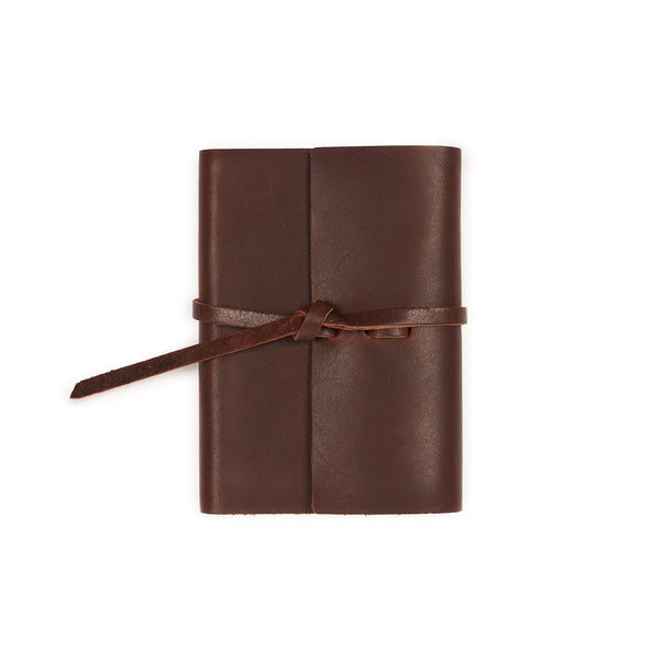 Writers Log Pocket Leather Notebook