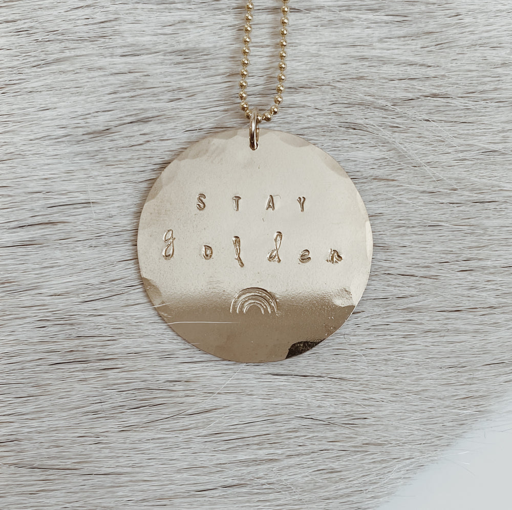LAYERING COIN NECKLACE