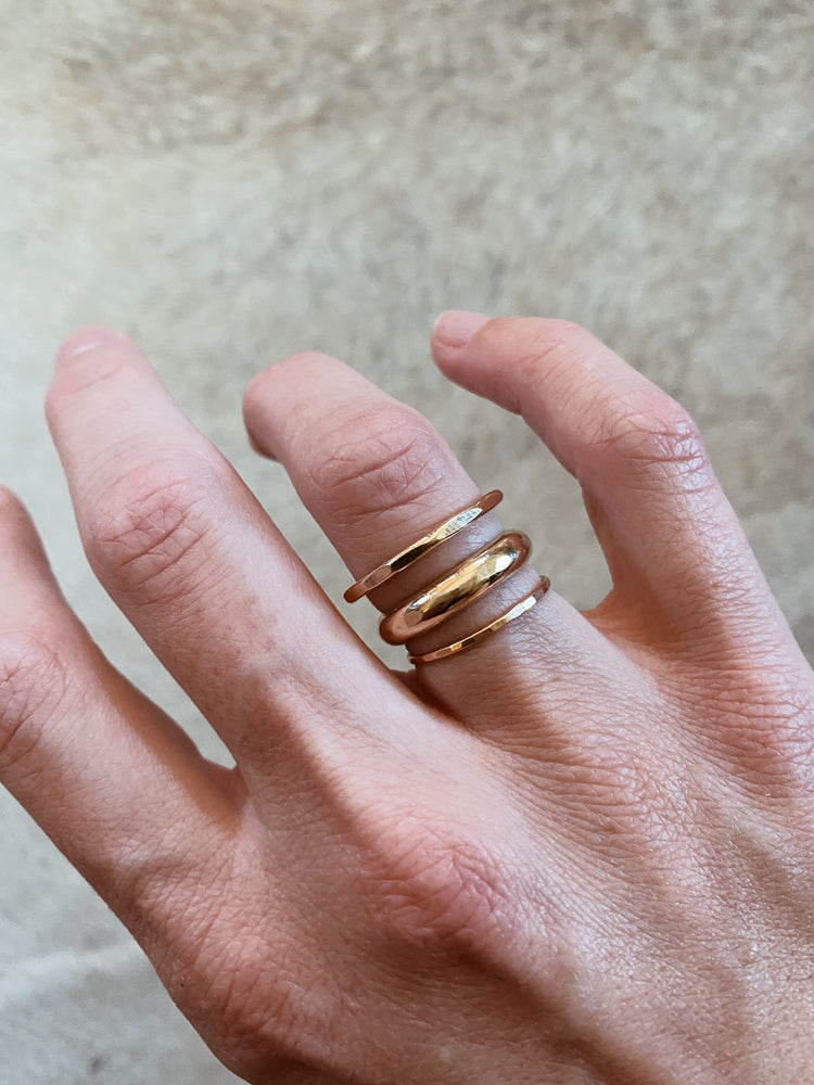 THICK STACK RING