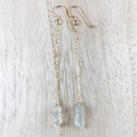 'north shore' crystal drop earrings