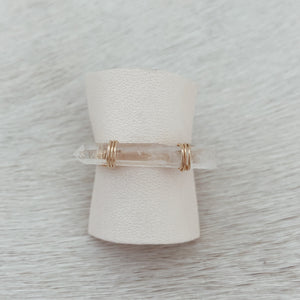 CRYSTAL STACK RING