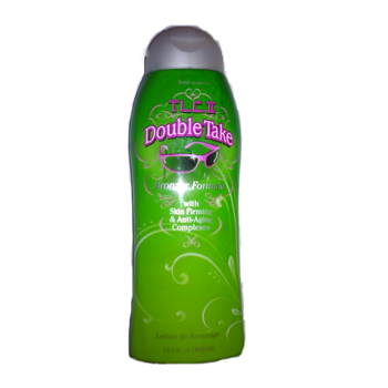 Double Take Bronzer Indoor Tanning Lotion  with Skin Firming Anit-aging Complexes - Varel Sales