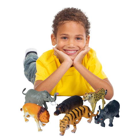 plastic wild animal toys