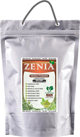 5kg (5000g) Zenia Pure Henna Powder BAQ - Zenia Herbal