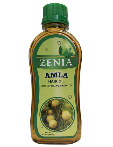 Zenia Amla Hair Oil 100% Natural for Hair Growth, Strong & Healthy Hair 200ml