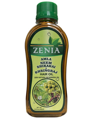 Zenia Amla Neem Shikakai Bhringraj Hair Oil 200ml