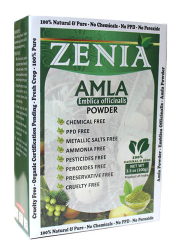 100g Zenia Amla Powder Box - Zenia Herbal