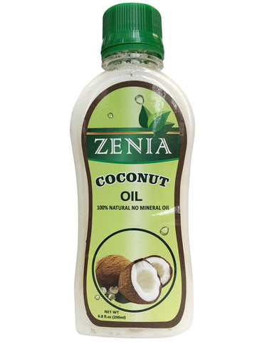 Zenia 100% Pure Coconut Oil For All Hair Textures & Skin Types | Moisturize - Massage - Condition