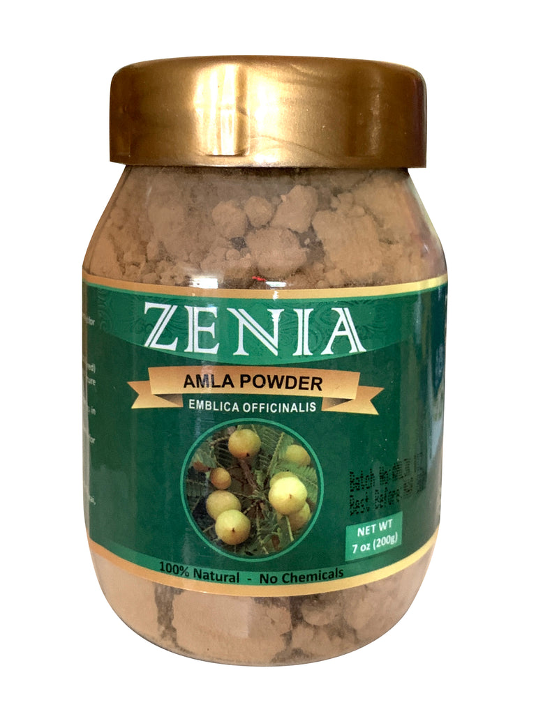 200g Zenia Amla Powder Jar (Indian Gooseberry)