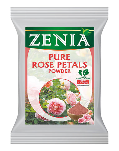 Zenia 100% Pure Rose Petals Powder 50g