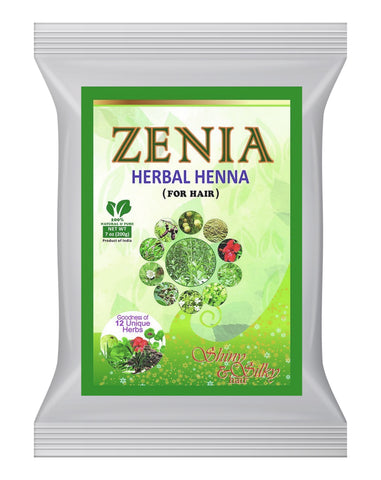 1kg (2lbs. 2oz) Zenia Herbal Henna 12 Unique Herbs