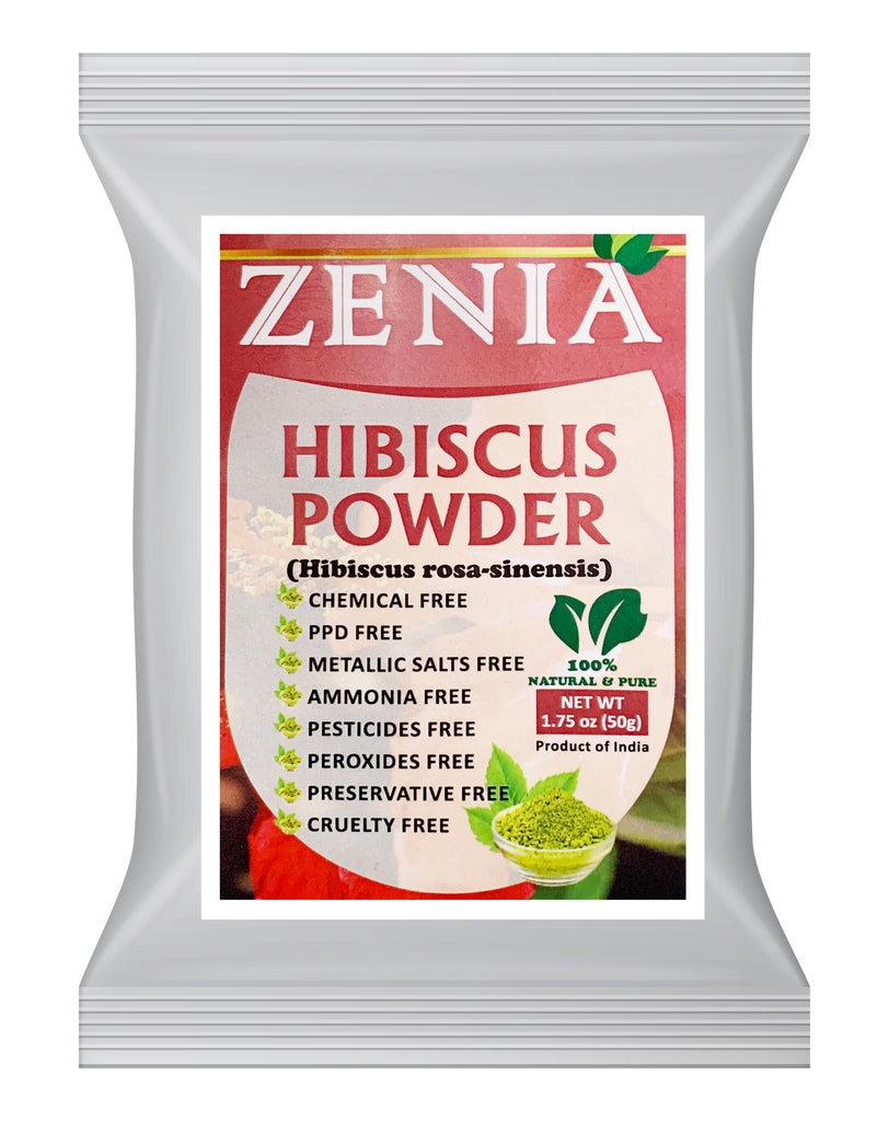 Zenia Pure Hibiscus Flower Powder 100% Raw from India